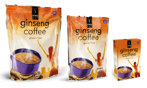 Packaging KingCup Coffee